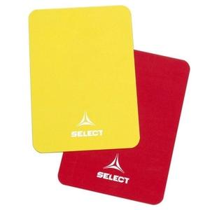 Karty dla sędziów Select Referee karty czerwony żółty, Select