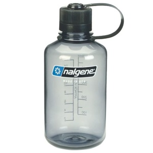 Butla Nalgene Narrow Mouth 0,5l Gray 2078-2030, Nalgene