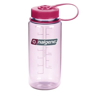 Butla Nalgene Szeroki Mouth 0,5l Clear Pink 2178-2216, Nalgene