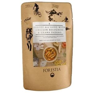 Jedzenie Forestia fusil all'uovo z kurczakiem w bolonia sosie z Grana padano (z podgrzewacz), Forestia