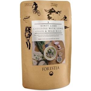 Jedzenie Forestia jegnięcina duszona mięso z długą zboże i whitewater ryżą z podgrzewacz, Forestia