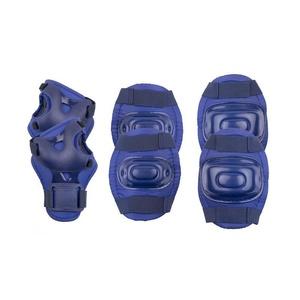 Zestaw dziecięcych ochraniaczy Spokey AEGIS 3-dílná, ciemno niebieskie, Spokey