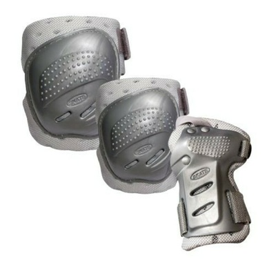 Ochraniacze Tempish Cool Maxa 3 srebrne