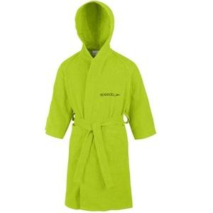 Szlafrok Speedo Bathrobe Microterry Junior Apple Green 68-602je0010, Speedo