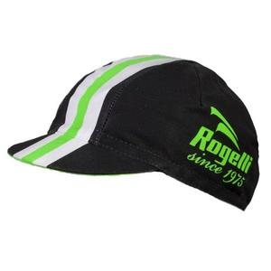 Sportowe czapka z daszkiem Rogelli RETRO, czarno-zielony 009.954., Rogelli
