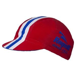 Sportowe czapka z daszkiem Rogelli RETRO, czerwona 009.955., Rogelli