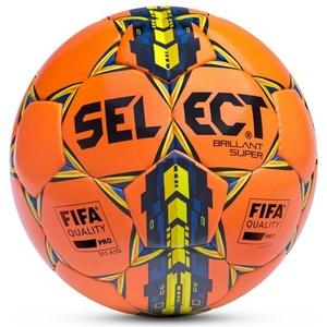 Piłka Select Brillant Super pomarańczowy żółty, Select