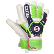 Bramkarzskie gloves Select Goalkeeper gloves 88 Pro Grip niebiesko zielony, Select