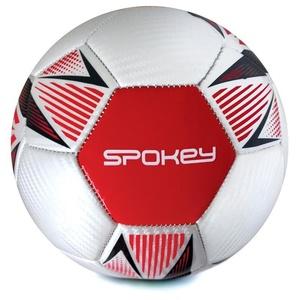Spokey OVERACT piłka nożna piłka rozmiar. 5, czerwony, Spokey