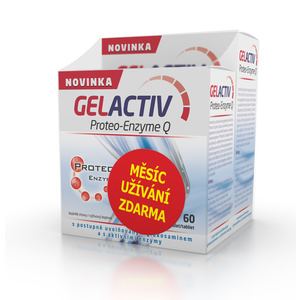 Salutem GelActiv Proteo-Enzym Q 120+60 tbl. Zadarmo, Salutem
