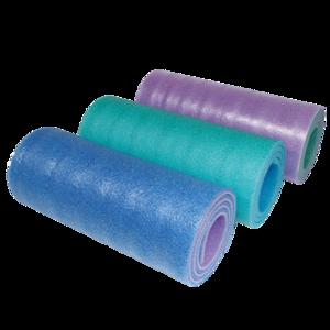 Mata samodmuchająca YATE dwuwarstwowa 12 SOFT FOAM niebieski, zielony, różowy, Yate