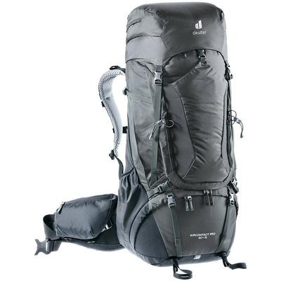 Plecak Deuter Aircontact Pro 60+15 grafitowo-czarny, Deuter
