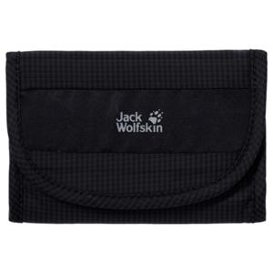 Portfel JACK WOLFSKIN Cashbag Wallet Rfid czarny, Jack Wolfskin
