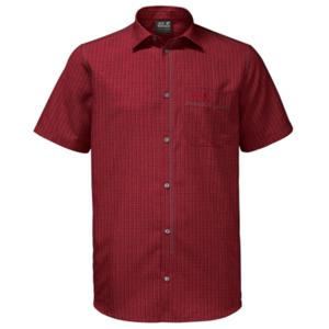 Koszula JACK WOLFSKIN El Dorado Shirt Men czerwona, Jack Wolfskin
