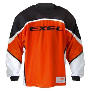 Golmanski bluza EXEL S60 GOALIE JERSEY junior orange/black, Exel