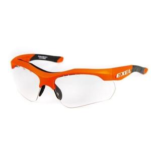 ochronne okulary expl X100 EYE GUARD senior pomarańczowy, Exel