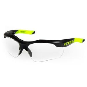 ochronne okulary expl X100 EYE GUARD senior black, Exel