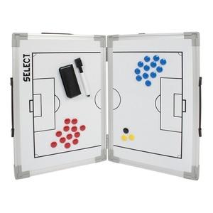 Taktyczna tablica Select Tactics  board alu piłka nożna biała, Select