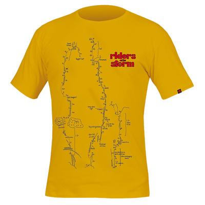 Koszulka Direct Alpine Flash wielbłąd / benzyna (jeźdźcy)