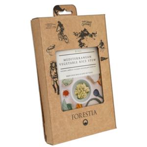 Jedzenie Forestia Morska warzywa z gotowane na parze ryżą (z podgrzewaczemem), Forestia
