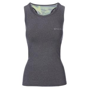Spokey fitness top MODO szaro-zielony, Spokey