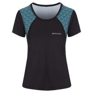 Spokey fitness koszulka RAIN czarne, Spokey