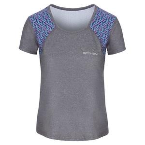 Spokey fitness koszulka RAIN szare, Spokey