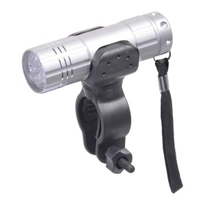 Oświetlenie rowerowe Compass Front 9LED SILVER, Compass