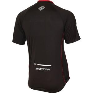 Cyklo bluza Lasting MD73 czarno-czerwony, Lasting