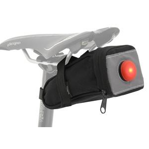 Torba na rower pod siodło z z powrotem LED światło Compass, Compass
