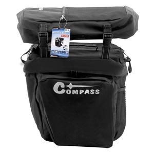 Torba na rower do tylne przewoźnik Compass 3in1, Compass