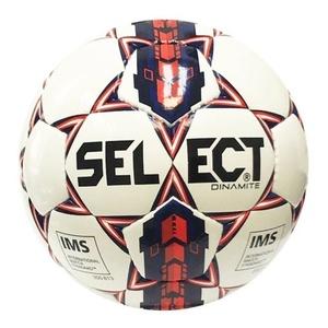 Futbolowa piłka Select FB Dynamit biało niebieska, Select