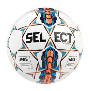 Futbolowa piłka Select FB Contra biała pomarańczowy, Select