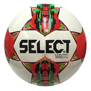 Futbolowa piłka Select FB Contra Special biało czerwona, Select