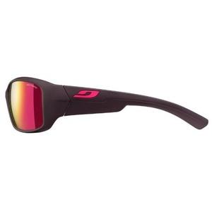 Przeciwsłoneczna okulary Julbo Whoops Spectron 3 CF, aubergine/pink logo, Julbo