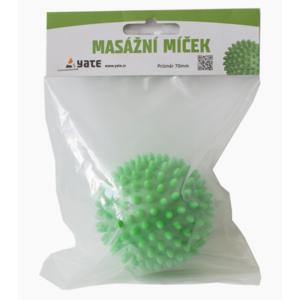 do masażu piłka Yate 70 mm zielony, Yate