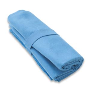 Szybkoschnący ręcznik HIS farba niebieska L 50x100 cm, Yate