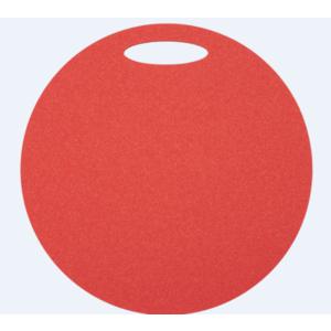 Stołek Yate okrągłe 1 warstwa średnica 350 mm czerwone, Yate