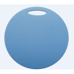 Stołek Yate okrągłe 1 warstwa średnica 350 mm jasno. niebieskie, Yate