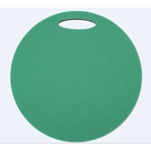 Stołek Yate okrągłe 2 warstwa średnica 350 mm zielony/ czarny, Yate