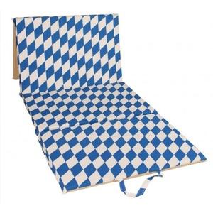 Plażowa materac Torba 4 częściowe Blue