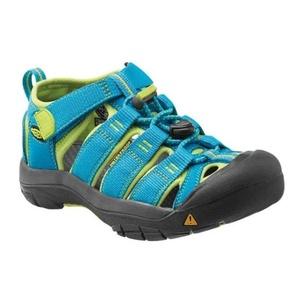 Sandały Keen Newport H2 Jr, hawaiian blue/green glow, Keen
