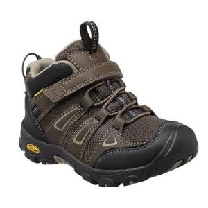 Dziecięce buty Keen OAKRIDGE MID WP K, wodospady brązowy / pręgowany, Keen