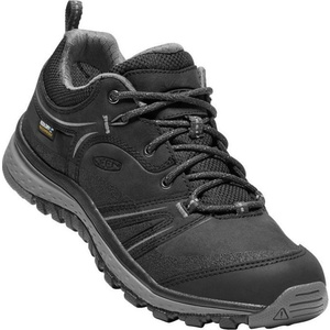 Damskie buty Keen Terradora Leather WP W, black/steel  grey, Keen