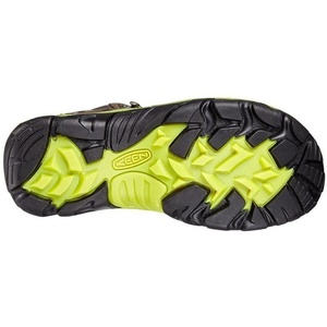 Męskie buty Keen wędrowiec MID WP W kruk / jasny chartreuse, Keen