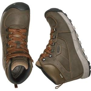 Męskie buty Keen Westward MID Leather WP M, dark oliwka / rdza, Keen