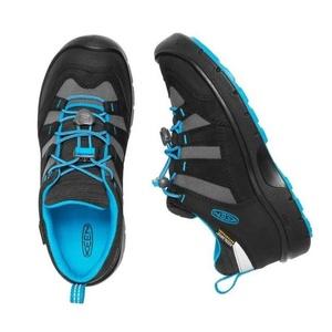 Dziecięce buty Keen Hikeport WP Jr, black/blue klejnot, Keen