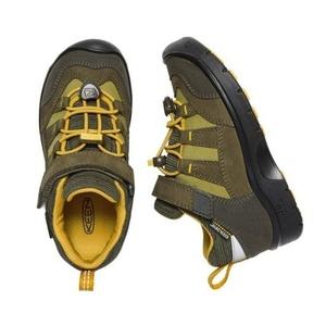 Dziecięce buty Keen Hikeport WP K, dark oliwka / cytrus, Keen