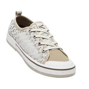 Damskie buty Keen Elsa II Sneaker Crochet W, silver brzoza / stołówka, Keen