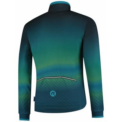 Ultralekka rowerowa kurtka Rogelli SOUL, niebiesko-zielony 003.418, Rogelli